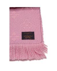 Pañuelos en lana rosa Louis Vuitton de color Pink