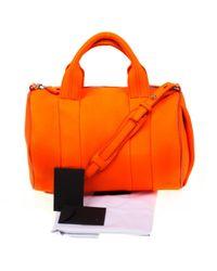 Alexander Wang Orange Leder Handtaschen