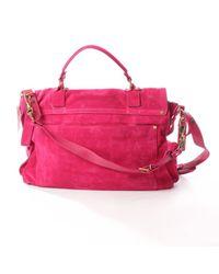 Proenza Schouler Pink Ps1 Large Handtaschen