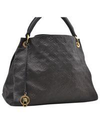 Bolsa de mano en lona marrón Artsy Louis Vuitton de color Brown