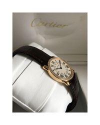 Orologi in oro rosa marrone Ronde Solo di Cartier in Brown