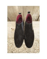 Boots \N en Suede Noir Marc By Marc Jacobs en coloris Multicolor