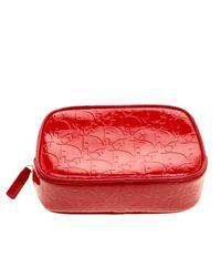Dior Red Lackleder Vanity