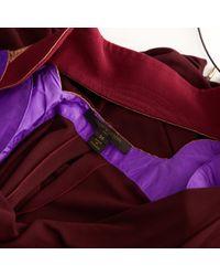 Vestito midi di Louis Vuitton in Purple