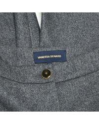 Vanessa Seward Gray Grey Wool