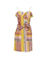 Chloé Orange Mid-length Dress