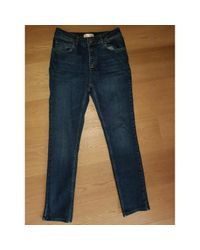 Jeans FW19 en Denim Bleu Anine Bing en coloris Blue