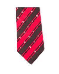 Hermès Seide Krawatten in Red für Herren