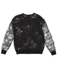 Camisa en seda negro Jason Wu de color Black