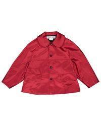 Comme des Garçons Red Jacke Polyester Rot