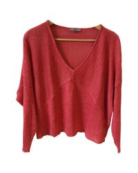 Helmut Lang Pre-owned Pink Linen Knitwear