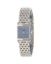 Van Cleef & Arpels - White Gold Watch - Lyst