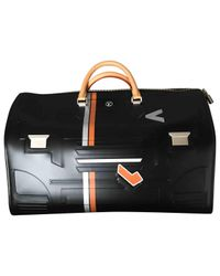 Louis Vuitton - Black Speedy Leather Handbag - Lyst