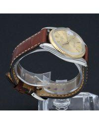 Montres Datejust 36mm en Or et acier Doré Rolex pour homme en coloris Multicolor