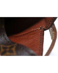Borsa a mano in tela marrone Saint Cloud di Louis Vuitton in Brown