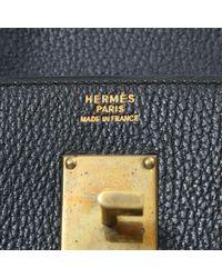 Bolso de viaje Haut à Courroies de Cuero Hermès de color Black