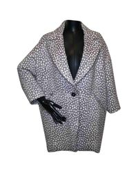 Mantel en Coton Gris Isabel Marant en coloris Gray