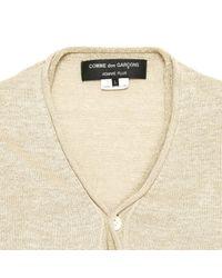 Comme des Garçons Metallic Gold Linen Knitwear & Sweatshirt for men