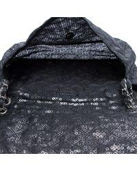 Borsa a mano in tela nero di Chanel in Black