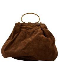 Miu Miu Brown Handtaschen