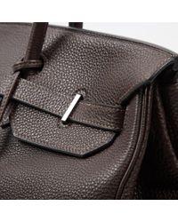Hermès Brown Birkin 40 Leder Cross Body Tashe