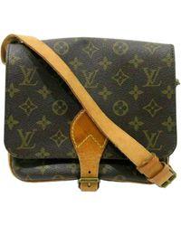 Louis Vuitton Multicolor Cartouchière Leinen Handtaschen