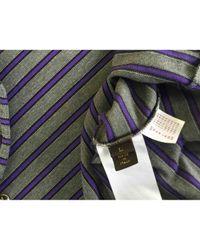 Polos \N en Coton Gris Louis Vuitton pour homme en coloris Multicolor