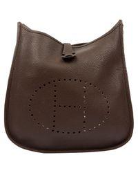 Hermès Brown Evelyne Leder Handtaschen