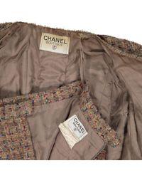 Chanel Brown Wolle jacken