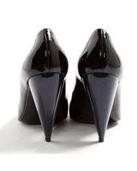 Lanvin \n Black Patent Leather Heels