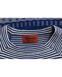 Missoni Blue Viscose Top