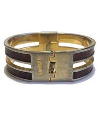 Loewe Metallic \n Gold Metal Bracelet
