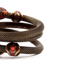 Lanvin Metallic Armbänder
