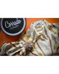 Camisa de Seda Hermès de color Multicolor