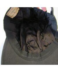 Chapeaux & Bonnets \N en Toile Noir Fendi pour homme en coloris Black