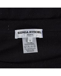 Sonia Rykiel Black Wolle pullover