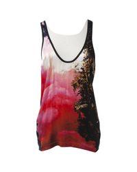 Camisa en seda multicolor \N Barbara Bui de color Black