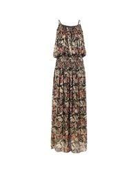 Vanessa Bruno Metallic Silk Dress