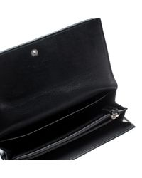 Dior Black Patent Leather Wallet