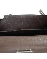 Borse a mano Kelly 28 Marrone di Hermès in Brown