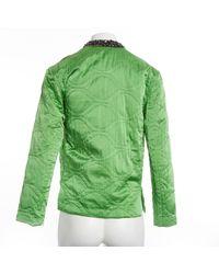 Chaqueta en seda verde \N Isabel Marant de color Green