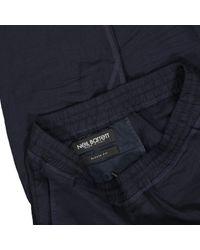Pantalons en Laine Noir Neil Barrett pour homme en coloris Blue