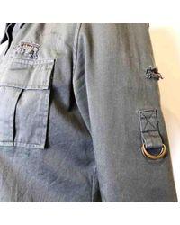 Top \N en Coton Kaki Balmain en coloris Gray