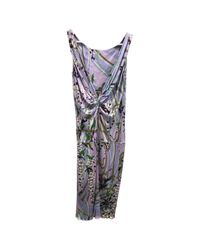 Emilio Pucci - Multicolor Pre-owned Maxi Dress - Lyst