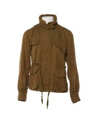 Étoile Isabel Marant Multicolor Khaki Cotton Jacket