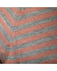 Missoni Metallic Silver Viscose Knitwear