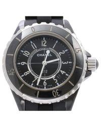 Chanel Black J12 Quartz Keramik Uhren