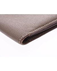Hermès Leder Kleinlederwaren in Gray für Herren