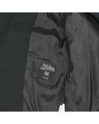 Jean Paul Gaultier Black Wool Jacket