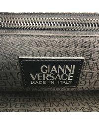 Sac en Cuir Noir Versace pour homme en coloris Multicolor